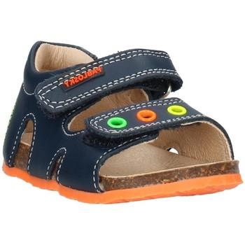 Topánky Deti Sandále Pablosky 0819 Blue