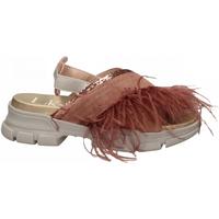 Topánky Ženy Sandále L4k3 SANDAL PIUME STRUZZO rosa
