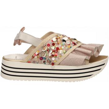 Topánky Ženy Sandále L4k3 SANDAL SUPER PAILETTES beige