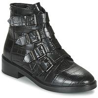 Topánky Ženy Polokozačky Pepe jeans MALDON IMAN Čierna