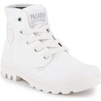 Topánky Ženy Polokozačky Palladium US Pampa HI Biela