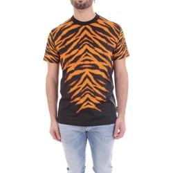 Oblečenie Muži Tričká s krátkym rukávom Versace B3GVB7DF-30377 Nero