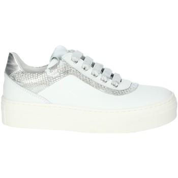Topánky Dievčatá Nízke tenisky Le Petit Bijou 6430LPB White/Silver