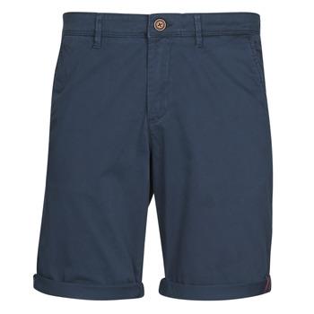 Oblečenie Muži Šortky a bermudy Jack & Jones JJIBOWIE Námornícka modrá