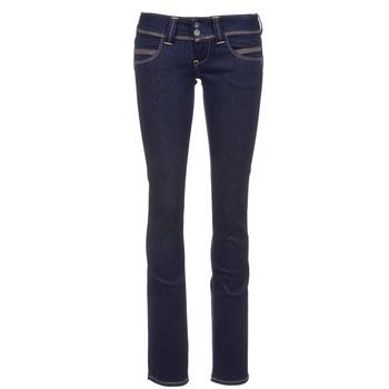 Oblečenie Ženy Rovné džínsy Pepe jeans VENUS Modrá / M15