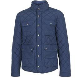 Oblečenie Muži Vyteplené bundy Pepe jeans HUNTSMAN Námornícka modrá