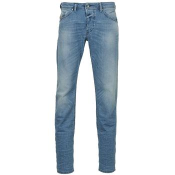 Oblečenie Muži Rovné džínsy Diesel BELHER Modrá / Clear