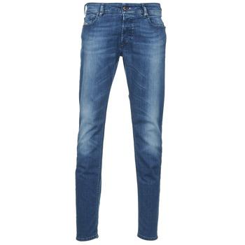 Oblečenie Muži Džínsy Slim Diesel SLEENKER Modrá / MEDIUM