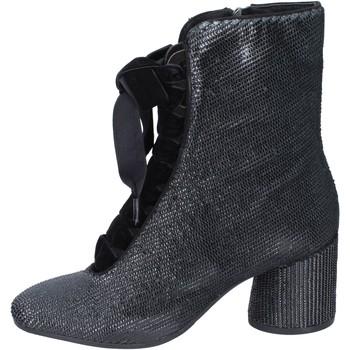 Topánky Ženy Čižmičky Elvio Zanon Členkové Topánky BM12 Čierna
