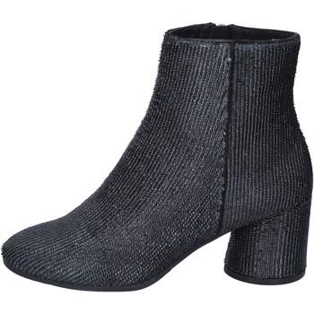 Topánky Ženy Čižmičky Elvio Zanon Členkové Topánky BM13 Čierna