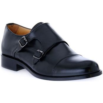 Topánky Muži Mokasíny Exton VITELLO NERO Nero
