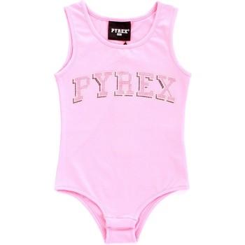 Oblečenie Dievčatá Tielka a tričká bez rukávov Pyrex 024858 Rosa