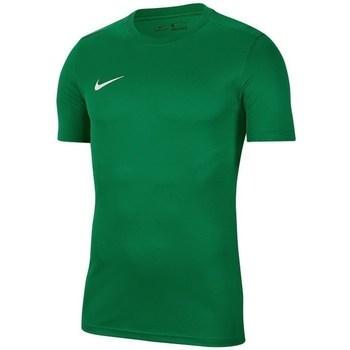 Oblečenie Muži Tričká s krátkym rukávom Nike Park Vii Zelená