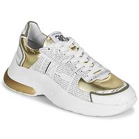 Topánky Ženy Nízke tenisky John Galliano 3646 Biela / Zlatá