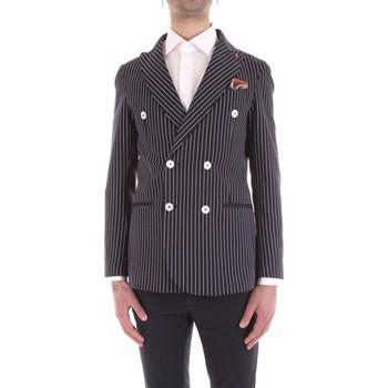 Oblečenie Muži Saká a blejzre Mulish VESPA-GKS907 Blu