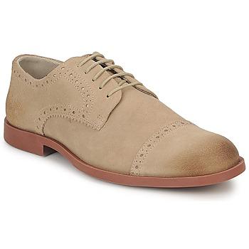 Topánky Muži Derbie Casual Attitude BALTOK Béžová