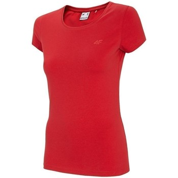 Oblečenie Ženy Tričká s krátkym rukávom 4F TSD001 Červená
