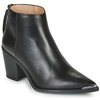 Topánky Ženy Čižmičky Unisa MIRTE Čierna