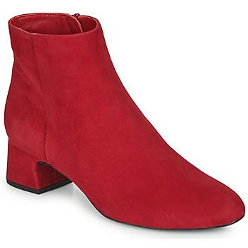Topánky Ženy Čižmičky Unisa LOLI Červená