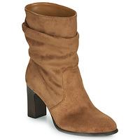 Topánky Ženy Čižmičky Unisa ULANO Béžová
