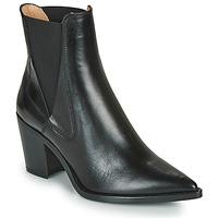 Topánky Ženy Čižmičky Unisa MUNIS Čierna