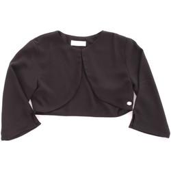 Oblečenie Dievčatá Cardigany Byblos Blu BJ14937 Nero