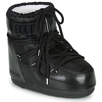 Topánky Ženy Snehule  Moon Boot MOON BOOT CLASSIC LOW GLANCE Čierna