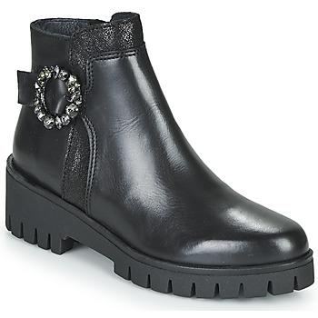 Topánky Ženy Polokozačky Myma KAOLI Čierna