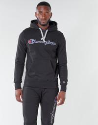 Oblečenie Muži Mikiny Champion HEAVY COMBED COTTON Čierna