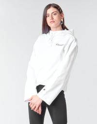 Oblečenie Ženy Mikiny Champion HEAVY COMBED COTTON FLEECE Biela