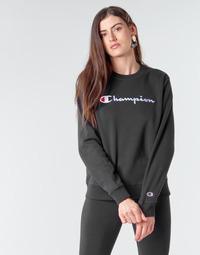 Oblečenie Ženy Mikiny Champion HEAVY COMBED COTTON FLEECE Čierna