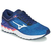 Topánky Muži Bežecká a trailová obuv Mizuno WAVE SKY RISE Modrá