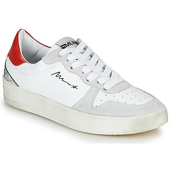 Topánky Ženy Nízke tenisky Meline STRA5007 Biela / Červená