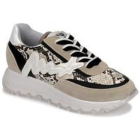 Topánky Ženy Členkové tenisky Meline TRO1700 Béžová / Hadí vzor