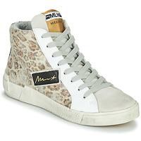 Topánky Ženy Členkové tenisky Meline NK5050 Béžová / Leopard