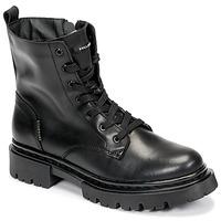 Topánky Ženy Polokozačky Bullboxer 610504E6L_BKC Čierna