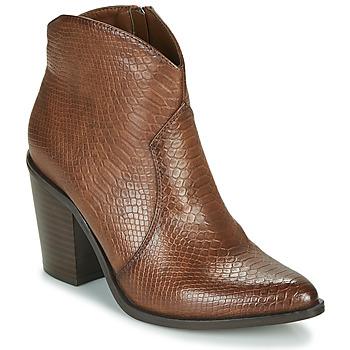 Topánky Ženy Čižmičky MTNG 50187-C50166 Hnedá