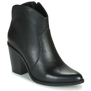 Topánky Ženy Čižmičky MTNG 50187-C50074 Čierna