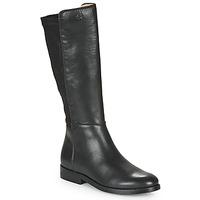 Topánky Dievčatá Čižmy do mesta Acebo's 9864-NEGRO-T Čierna