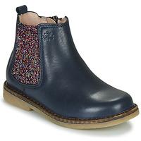 Topánky Dievčatá Polokozačky Acebo's 5274-MARINO-J Námornícka modrá