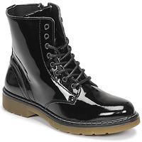 Topánky Dievčatá Polokozačky Bullboxer AOL501E6LGBKPT Čierna