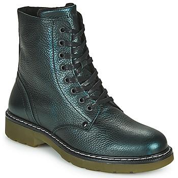 Topánky Dievčatá Polokozačky Bullboxer AOL501E6LGPETR Zelená