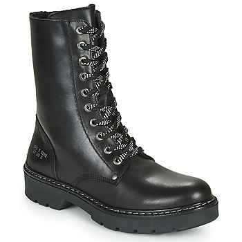Topánky Dievčatá Polokozačky Bullboxer AON523E6L-BKGY Čierna
