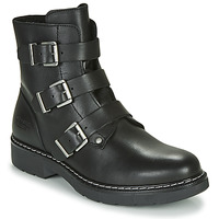 Topánky Dievčatá Polokozačky Bullboxer AOL520E6L-BLCK Čierna
