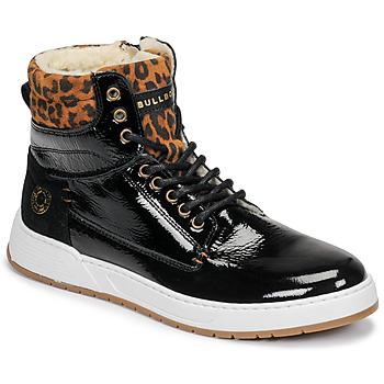 Topánky Dievčatá Členkové tenisky Bullboxer AOF503E6L-BLCK Čierna