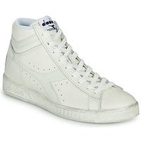 Topánky Členkové tenisky Diadora GAME L HIGH WAXED Biela