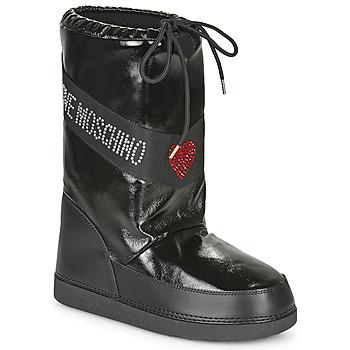 Topánky Ženy Snehule  Love Moschino JA24022G1B Čierna