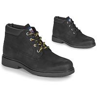 Topánky Muži Polokozačky Tommy Jeans LOW CUT TOMMY JEANS BOOT Čierna