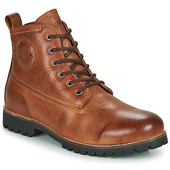 Topánky Muži Polokozačky Blackstone OM60 Hnedá