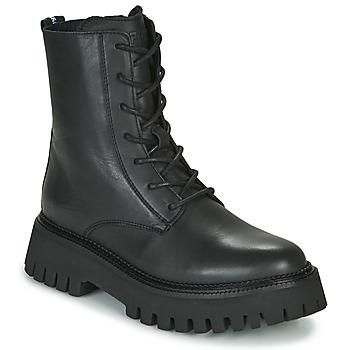 Topánky Ženy Polokozačky Bronx GROOV Y Čierna